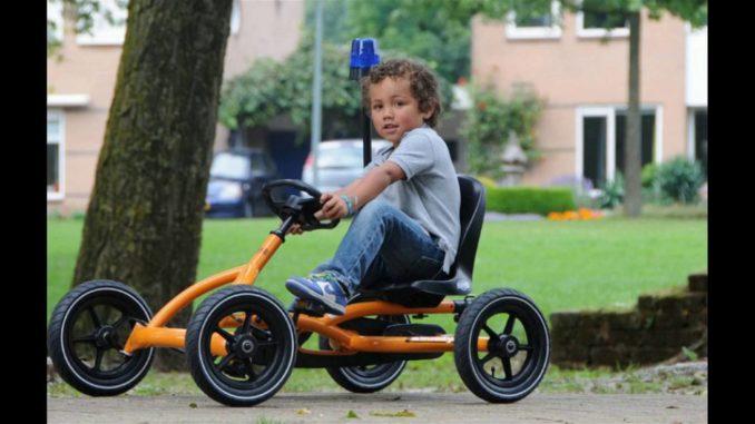 Berg Toys Junior Buddy Orange | Best Pedal Go Kart Reviews f...