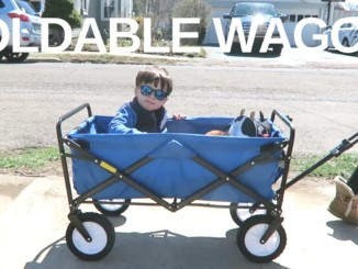 Our new favorite wagon! - Toddler folding wagon
