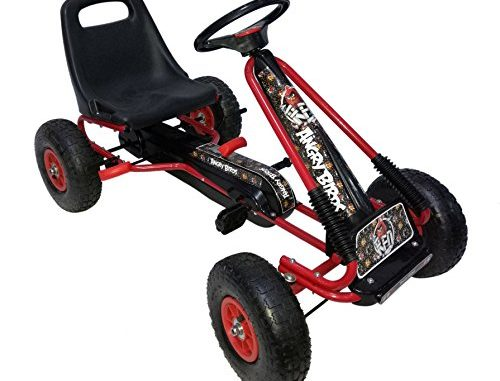 "Angry Birds ""Red"" Racing Pedal Go-Kart w/ Pneumatic Tire - B..."