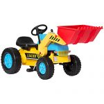 Best Choice Products Kids Pedal Ride On Excavator Front Load…