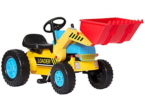 Best Choice Products Kids Pedal Ride On Excavator Front Load...