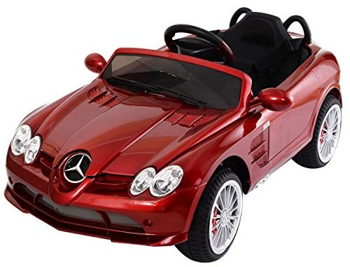 Costzon Kids Ride On Car, 12V Licensed Mercedes Benz R199, E...