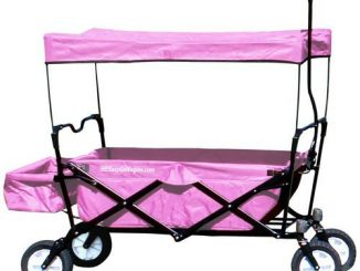 EasyGo Wagon Sports Heavy Duty Collapsible Folding All Terra...