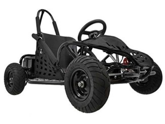 FamilyGoKarts Kids Electric Go Kart in Black