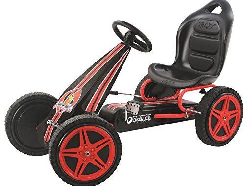 Hauck Highlander Pedal Go Kart Ride On, Red/Black