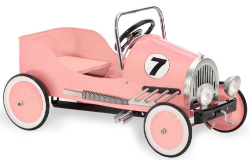Morgan Cycle Pink Retro Pedal Car