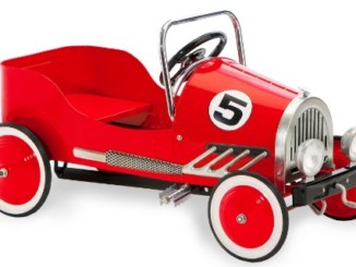 Morgan Cycle Retro Style Pedal Car, Red