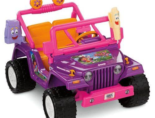 Power Wheels Nickelodeon Dora the Explorer, Jeep Wrangler