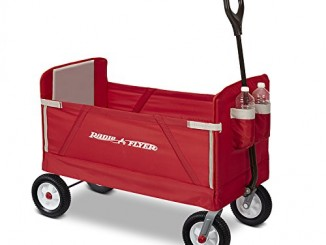 Radio Flyer All-Terrain 3-in-1 EZ Folding Wagon for kids and...