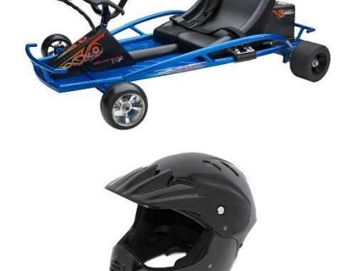 Razor Ground Force Drifter Kart and Razor Full Face Youth He...