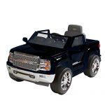 Rollplay Chevy Silverado 6-Volt Battery-Powered Ride-On, Bla…