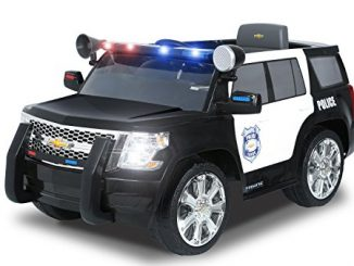 Rollplay Chevy Tahoe 6-Volt Battery-Powered Ride-On, Police
