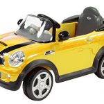 Rollplay MINI Cooper 6-Volt Battery-Powered Ride-On, Yellow
