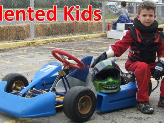Talented Little Kids on Go-Karts (2018)