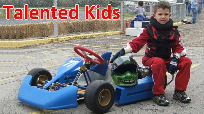 Talented Little Kids on Go-Karts (2018)