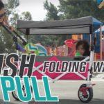 Push Pull Folding Wagon