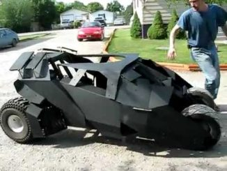 Batmobile Tumbler Go Kart