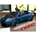LAMBORGHINI MURCIELAGO LP 670-SV 12V Electric Car for Kids! …