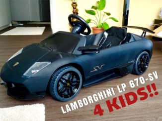 LAMBORGHINI MURCIELAGO LP 670-SV 12V Electric Car for Kids! ...