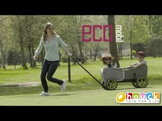 Eco Mobil – A versatile pull-along wagon from Hauck TOYS FOR...