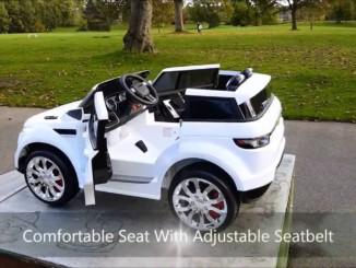 Best Sport Car XTREME Toys Kids Range Rover HSE Sport 12v El...