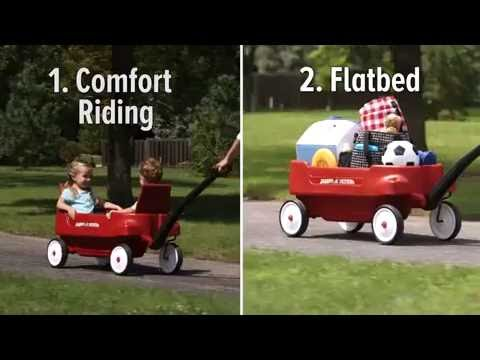 Radio Flyer 2700 Pathfinder Wagon 2 Seats Belts Super Large ...