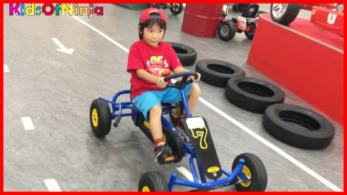 Kids Ride Racing BERG Pedal Go Kart Indoor Playground for Fa...