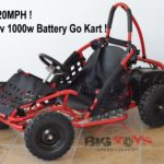 Go-Bowen 48v 1000w Electric Go-Kart Baja Kart open box revie…