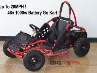 Go-Bowen 48v 1000w Electric Go-Kart Baja Kart open box revie...
