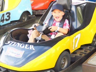 KIDS Laugh at FIRST Go-Cart RACE! THE BEST DAY! KiDS VICTORY...