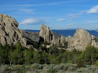 Granite formations - City of Rocks