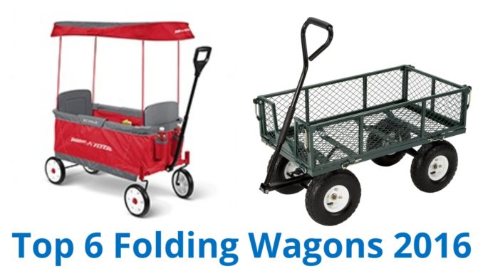 6 Best Folding Wagons 2016