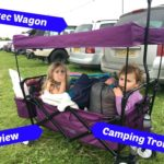 Crotec Folding Wagon  Camping Trolley Review