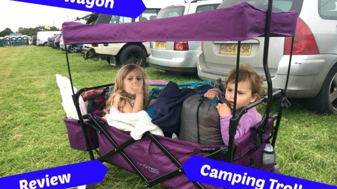Crotec Folding Wagon  Camping Trolley Review