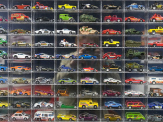 Hot Wheel Memories (with reflected self)