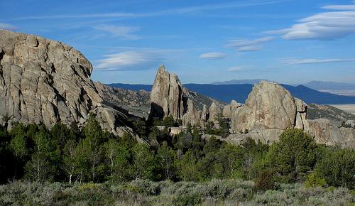 Granite formations - City of Rocks